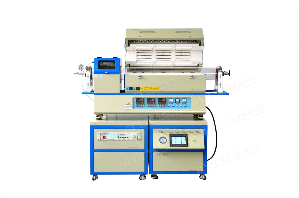 TL1200-1200-1200 -PECVD 三温区 150mm大管径 PECVD系统