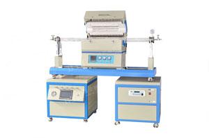 1200度单温区滑竿式CVD系统