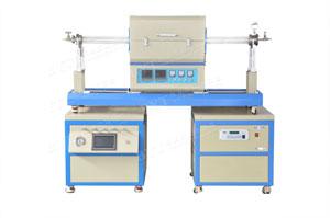 1200度双温区滑竿式CVD系统