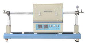 1200度双温区滑动管式炉